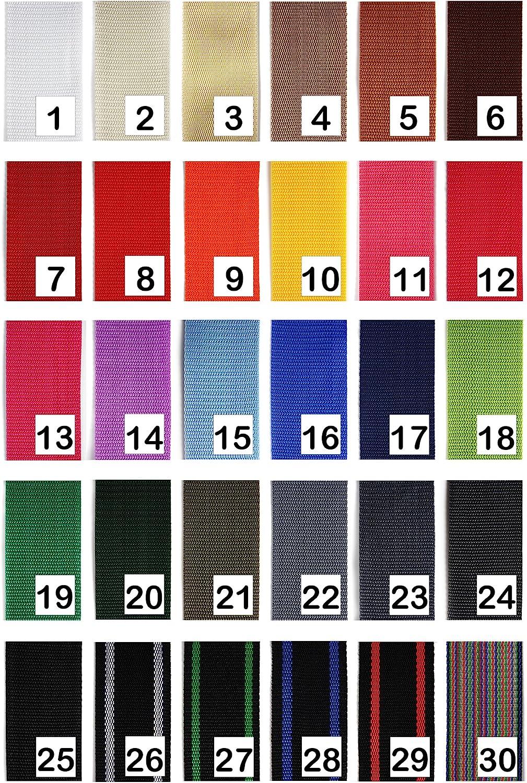 30 Colores en 4 o 12 Metros 40mm o 50mm de Ancho 1buy3 Cinta de Polipropileno de 20 mm de Ancho tambi/én de 25mm 30mm 4 Metros de Largo Color: 11 Magenta Tele