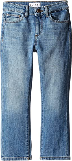 DL1961 Kids - Brady Slim Jeans in Rafter (Toddler/Little Kids/Big Kids)