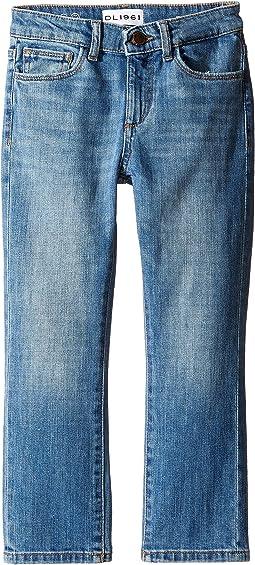 DL1961 Kids - Brady Slim Jeans in Rafter (Toddler/Little Kids/Big Kids)