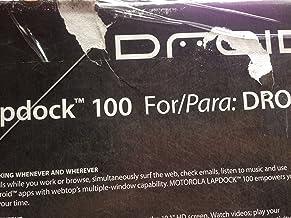 Motorola Lapdock 100 for Motorola Smartphones - RAZR/RAZR MAXX and more - Verizon Packaging