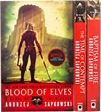 The Witcher Boxed Set: Blood of Elves, the Time of Contempt, Baptism of Fire: Andrzej Sapkowski