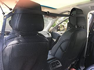 BINGPET Vehicle Pet Barrier Backseat Mesh Dog Car Divider Net 50