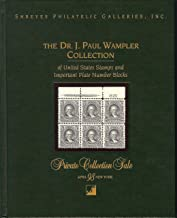 The Dr. J. Paul Wampler Collection(Stamp Auction Catalog)
