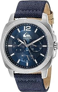 Quiksilver Men's QS/1004BLSV THE DRIFTER Multi-Function Navy Blue Canvas Strap Watch