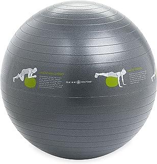 Gaiam Restore Self-Guided Stability Ball, 65cm