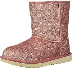 UGG Kids' Classic Short Ii Glitter Fashion Boot