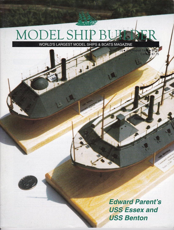 Model Ship Builder July august 1999 Edward 40%OFFの激安セール USS Parent's - ☆送料無料☆ 当日発送可能 Essex