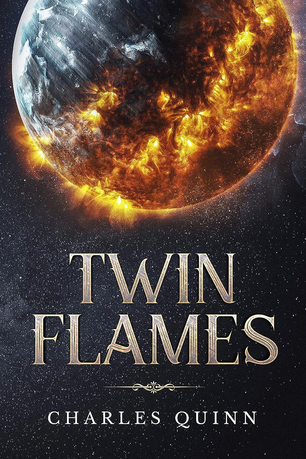 運動する保険キャンディーTwin Flames (English Edition)