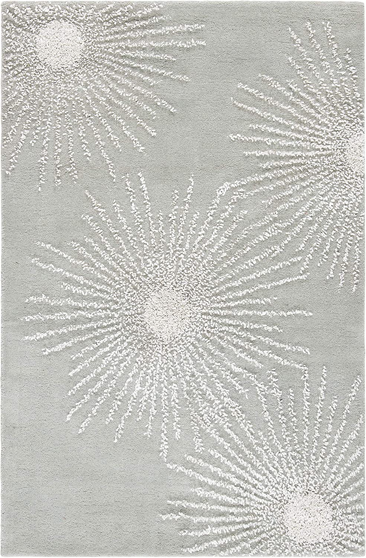 Safavieh Ranking TOP17 Soho Collection SOH712K Wool Reservation Starburst Handmade Premium