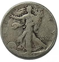 1934 S Walking Liberty Half Dollar 50c Average Circulated