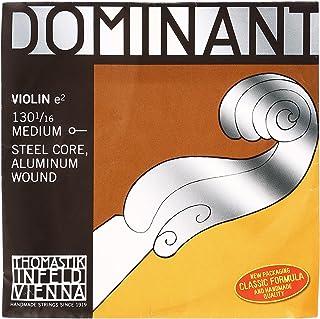 Thomastik-Infeld 130.11600000000001 Dominant Violin String, Single E String, 130, 1/16 Size, Aluminum Wound, Ball End
