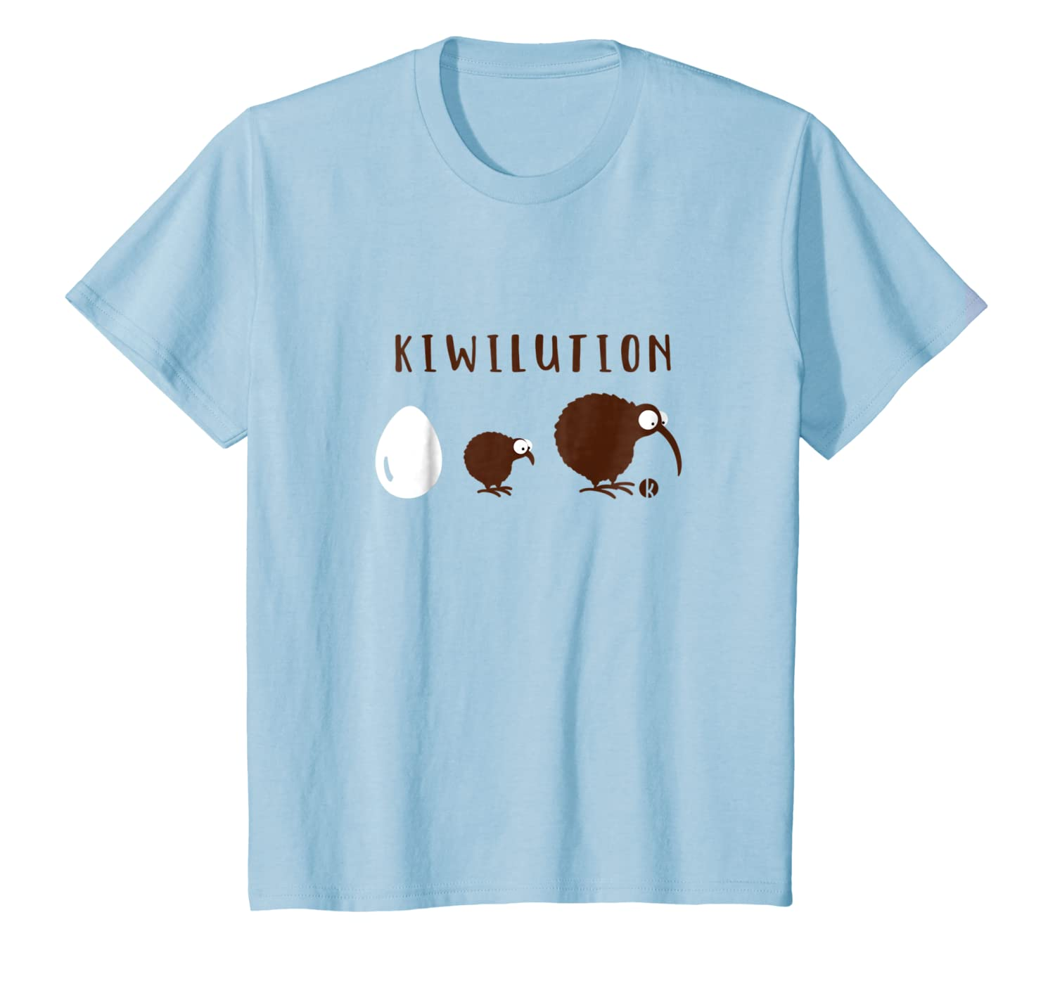 From Egg to Kiwi Bird T-Shirt Kiwilution Evolution of Kiwi