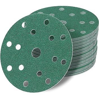 Schleifscheiben 100 Stück 15 14+1 Loch 150 mm P1500