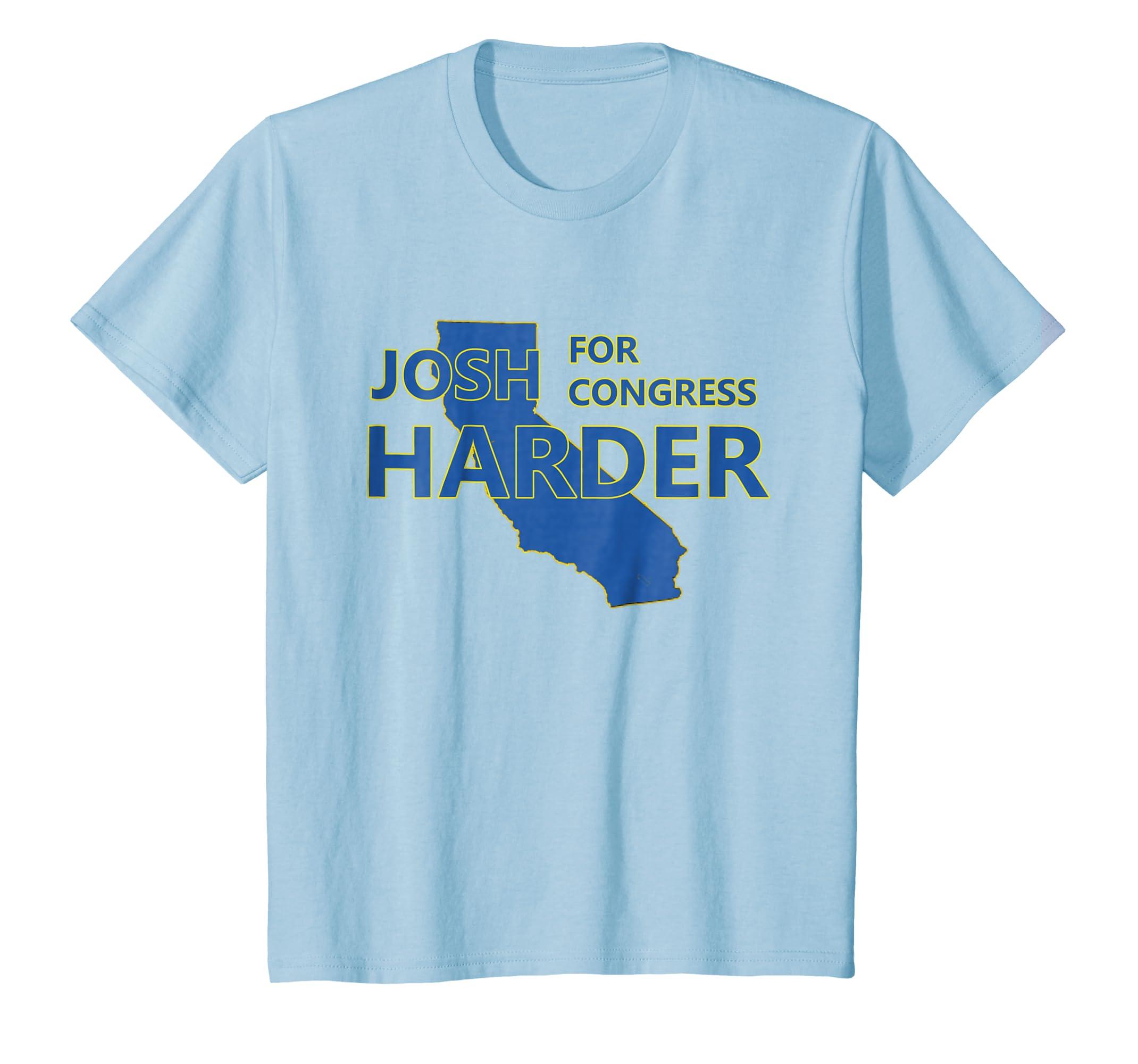 Amazon com: Josh Harder For U S  Congress California Campaign T