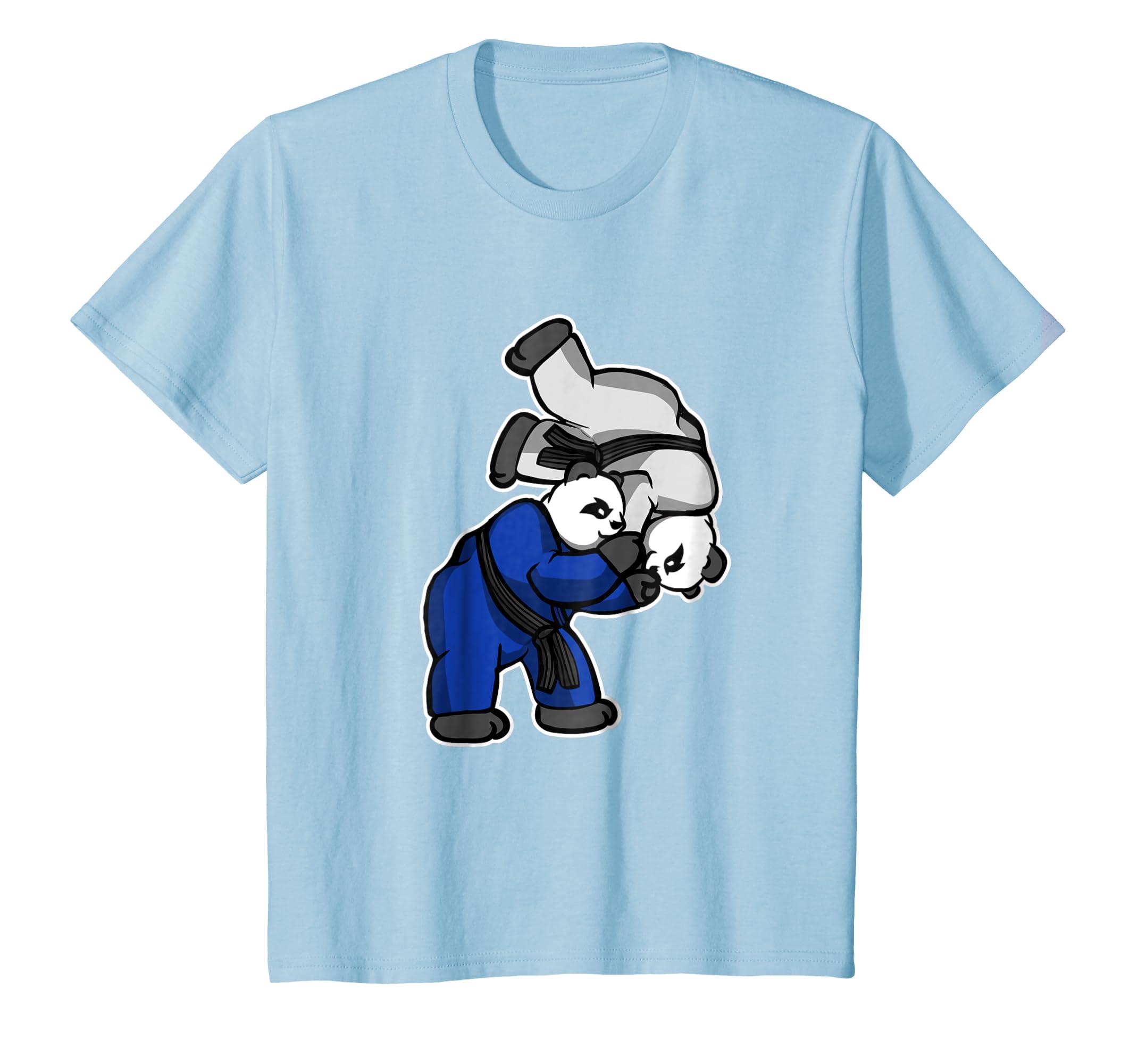 65da4d6d Amazon.com: Panda Judo Throw -Brazilian Jiu-Jitsu, MMA, BJJ Gift T Shirt:  Clothing