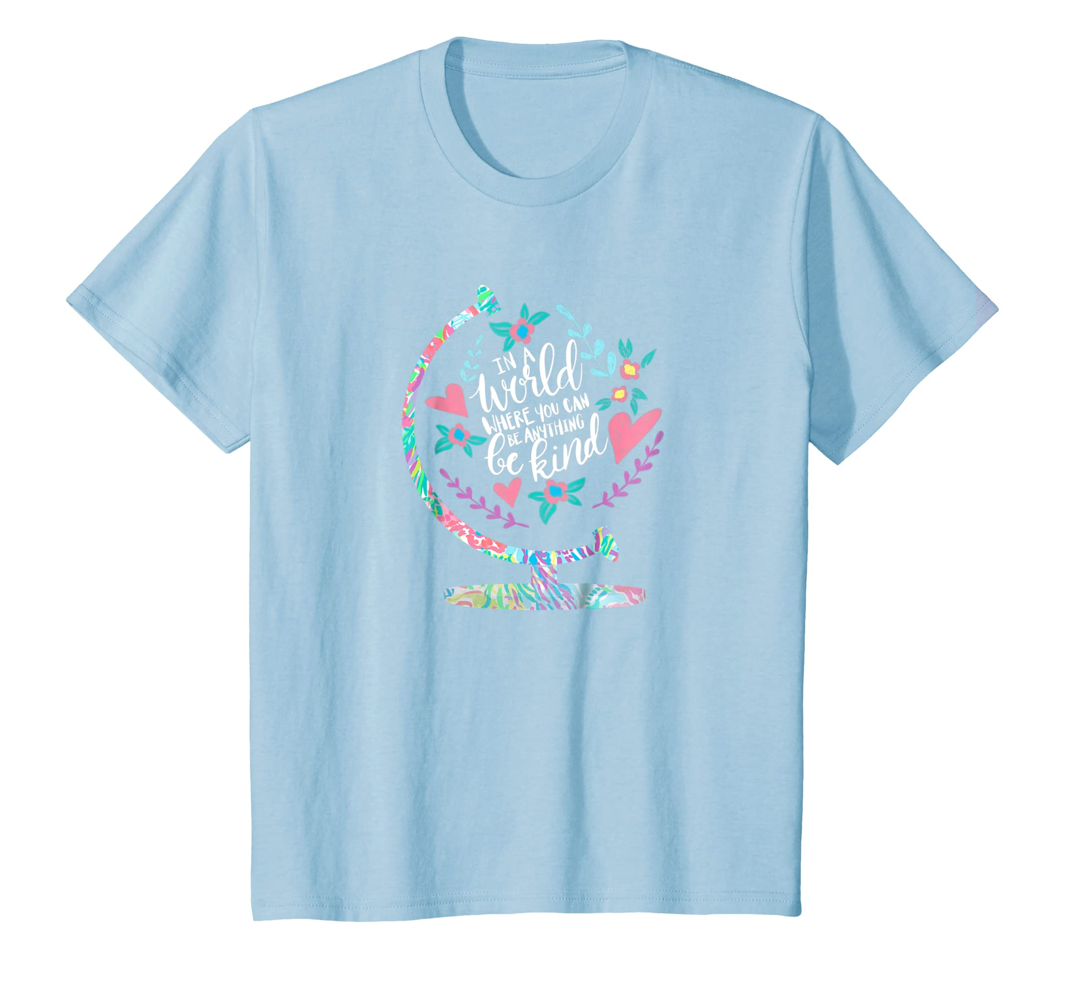 In A World Where You Can Be Anything Be Kind T Shirt-Teesml