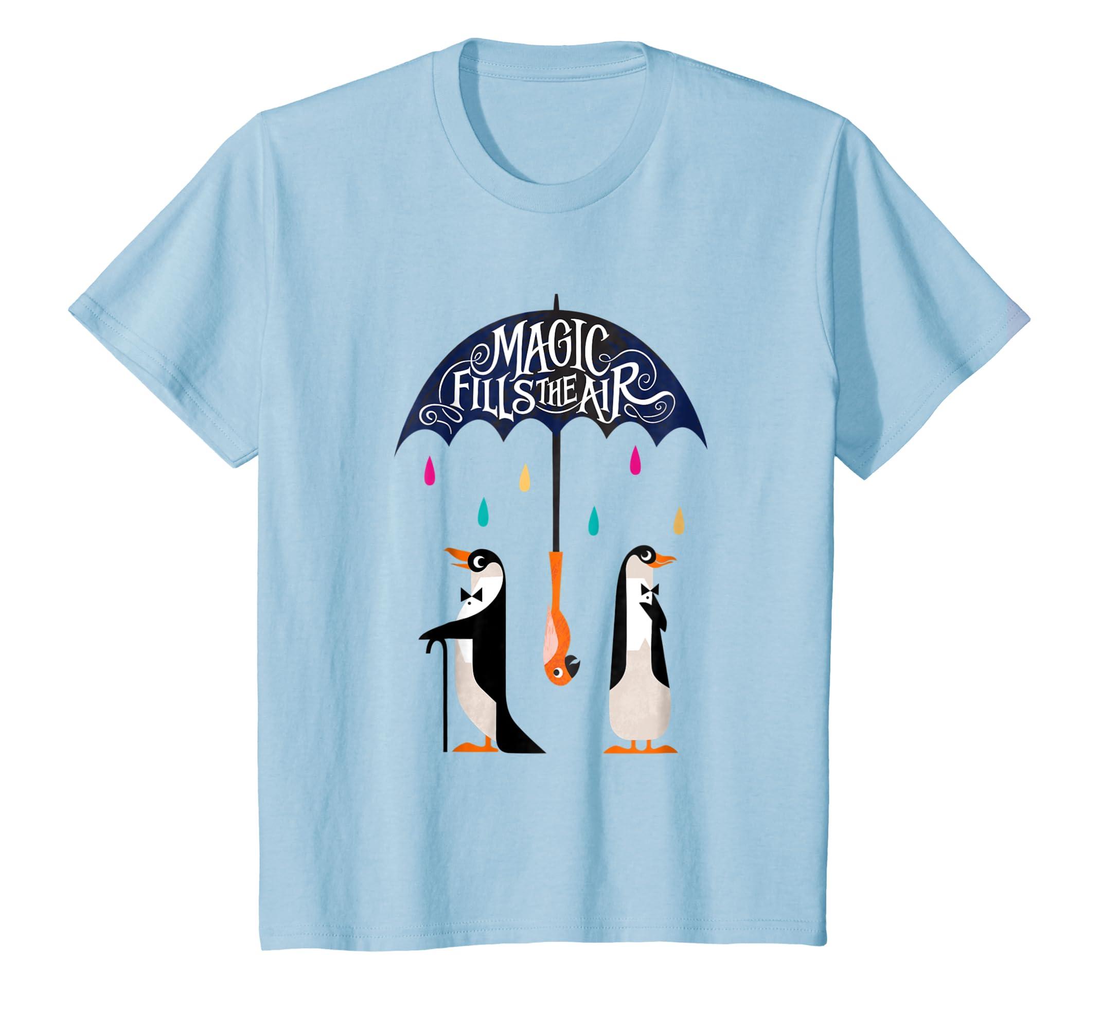 c5e3f334 Amazon.com: Disney Mary Poppins Full of Magic T-shirt: Clothing