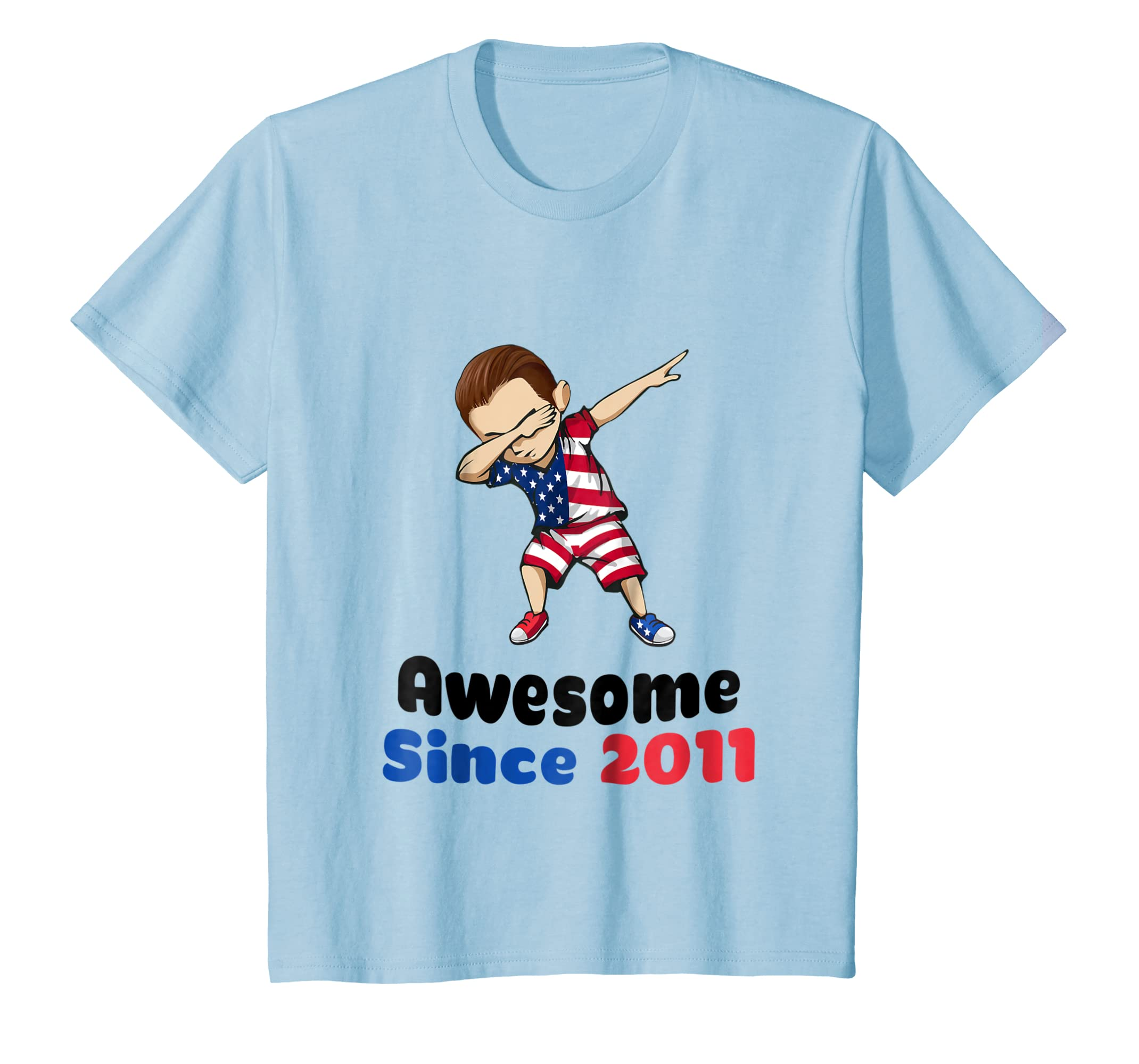 Amazon Kids 7th Birthday Shirt Boys 7 Year Old Boy Gift Awesome 2012 Clothing