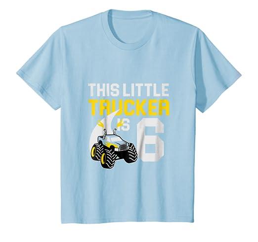 67233077 Amazon.com: Kids 6th Birthday Girls Monster Truck T-Shirt Cool 6 Year Old:  Clothing