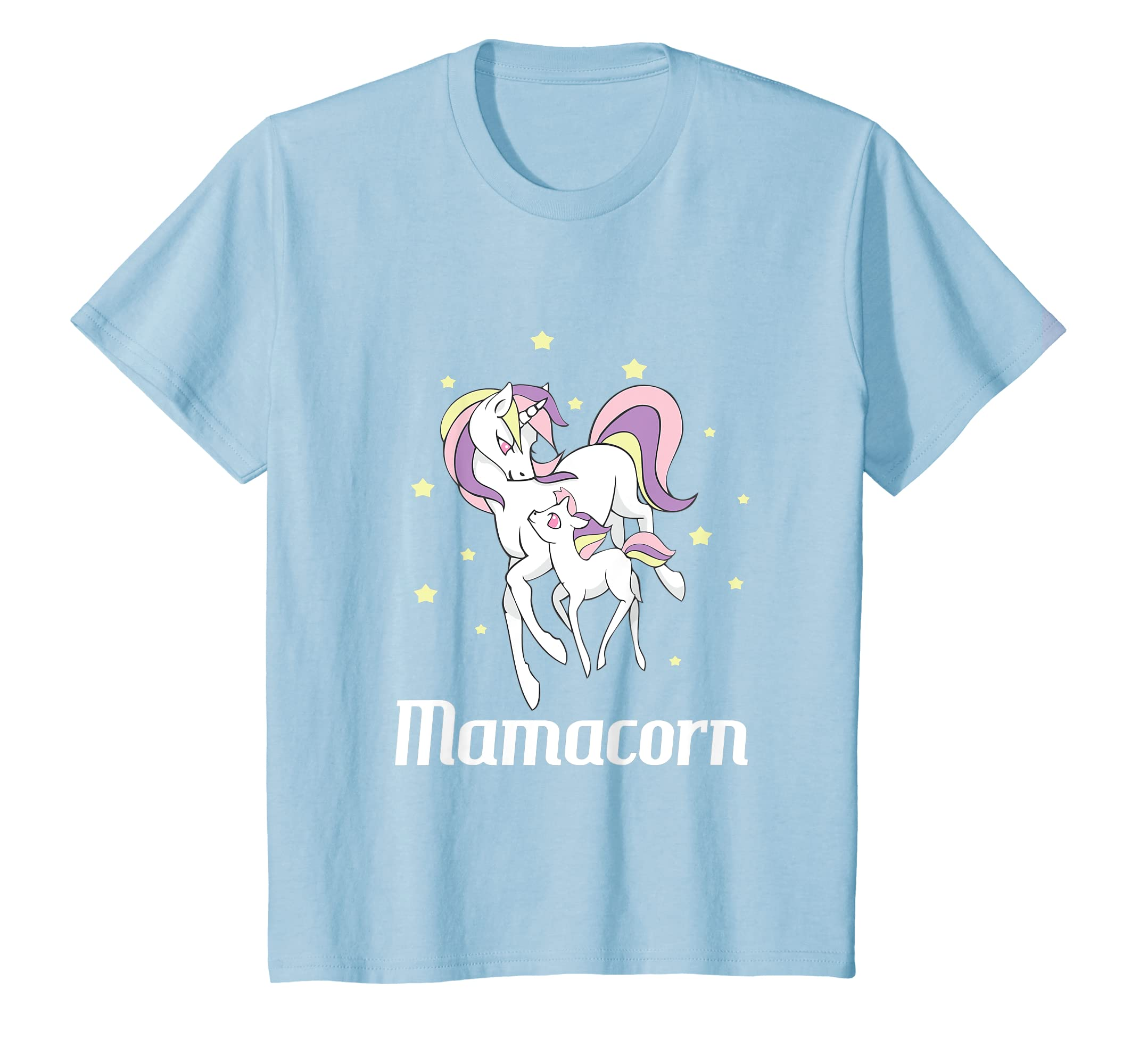 cc794b9d Amazon.com: Mamacorn T-Shirt Mama Unicorn Mom Shirt Mother's Day Gift:  Clothing