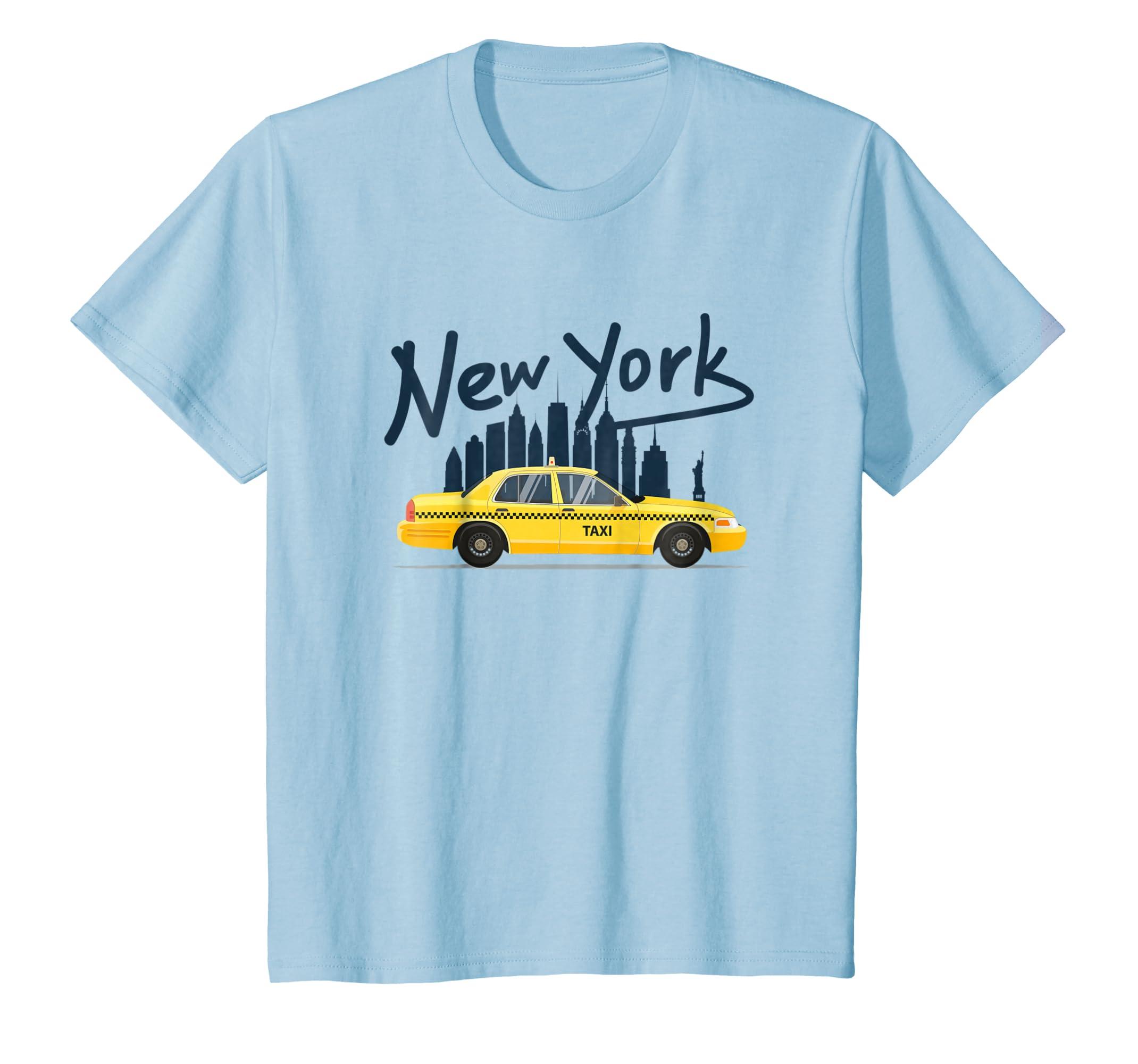 a77bf7e57 Amazon.com: NYC New York Yellow Cab Taxi Gift Souvenir Tee Men Women:  Clothing