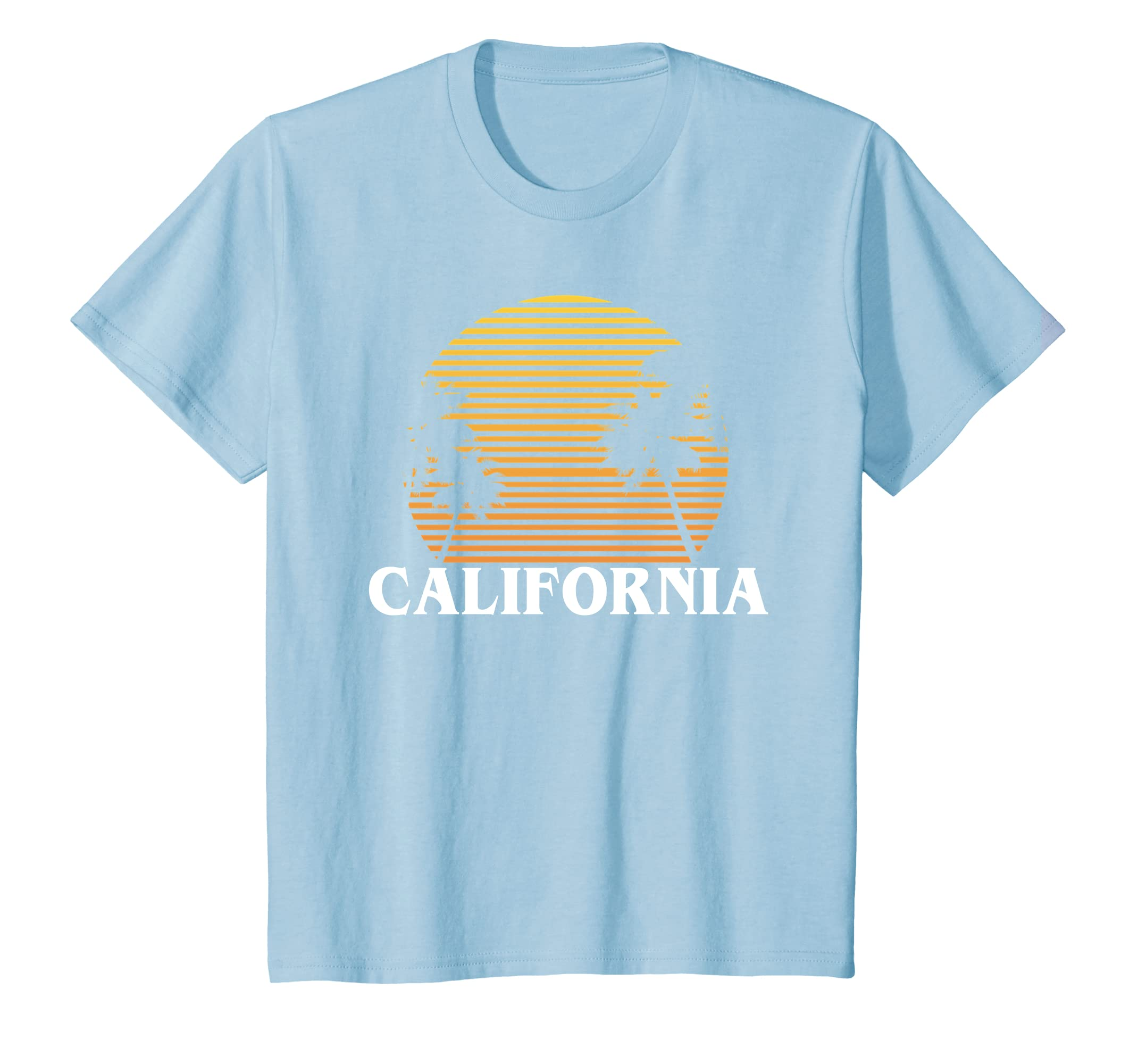 Amazon Com California Sun Sand And Surf Good Times T Shirt Clothing