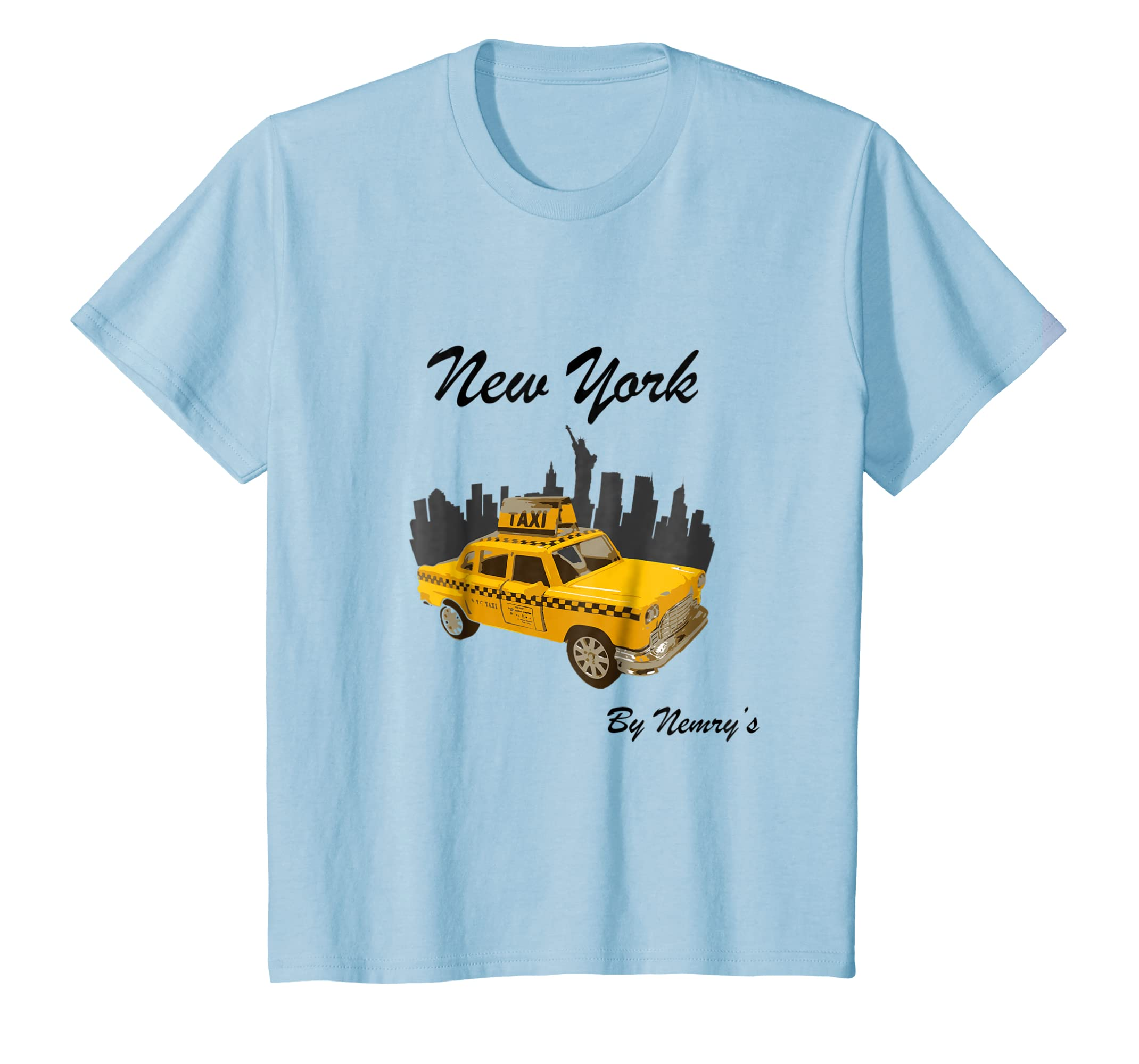 New York Vintage Taxi T Shirts, NYC Cab souvenir tee