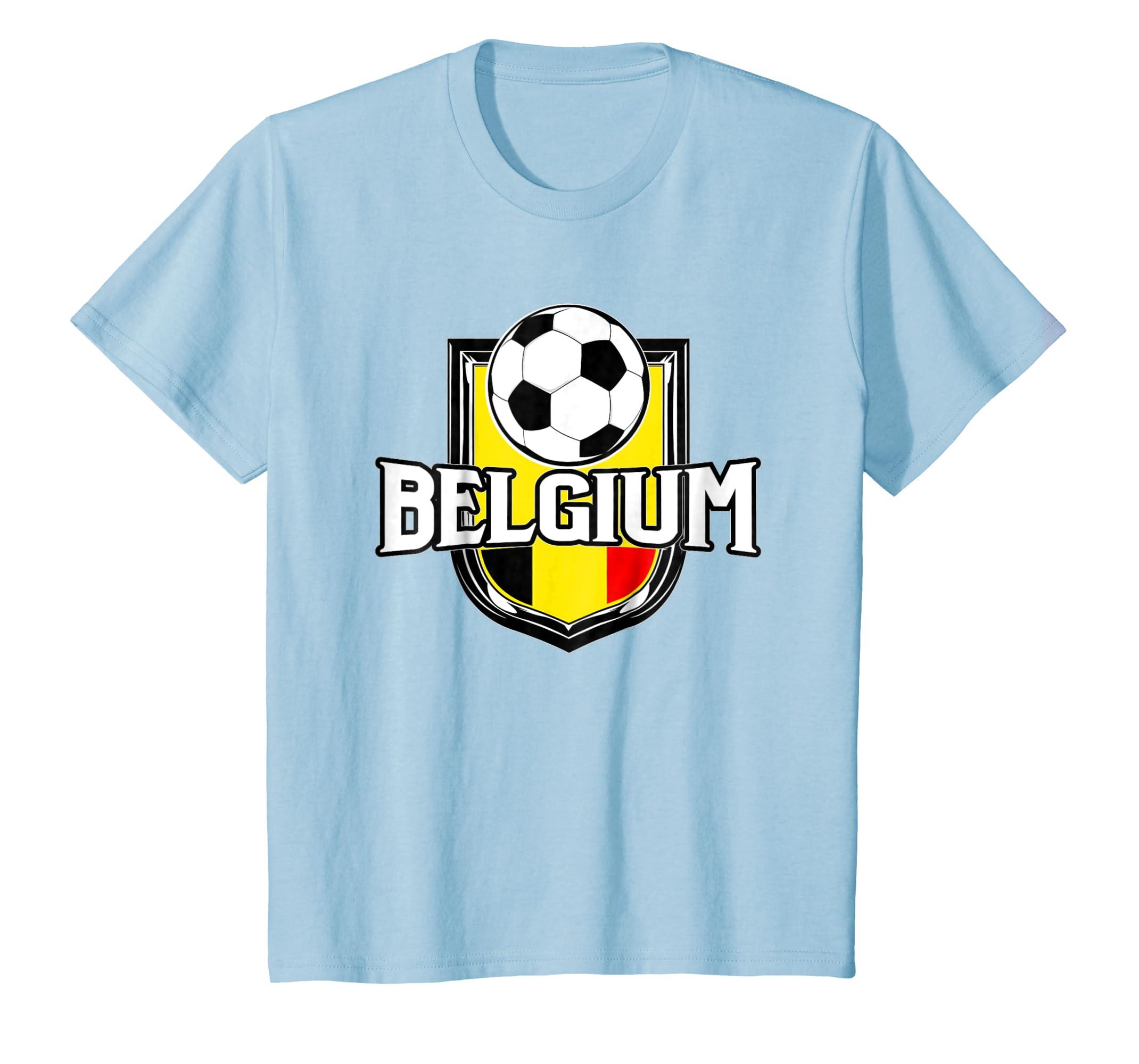 Amazon.com  Belgium Soccer Ball T-Shirt  149edcb4c