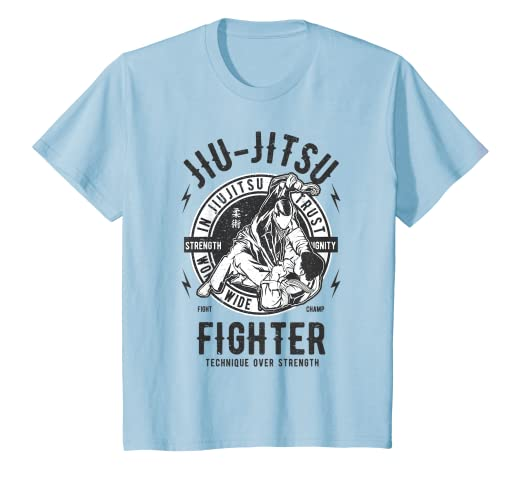 b5148855f Image Unavailable. Image not available for. Color: Kids JIU JITSU T SHIRT  ...