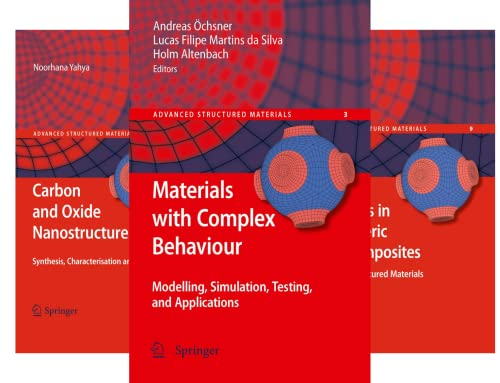 Advanced Structured Materials (50 Book Series)