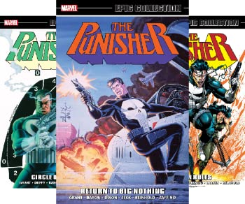The Punisher  1987-1995   5 Book Series