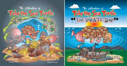 The Aventures of Toby the Sea Turtle (2 Book Series)