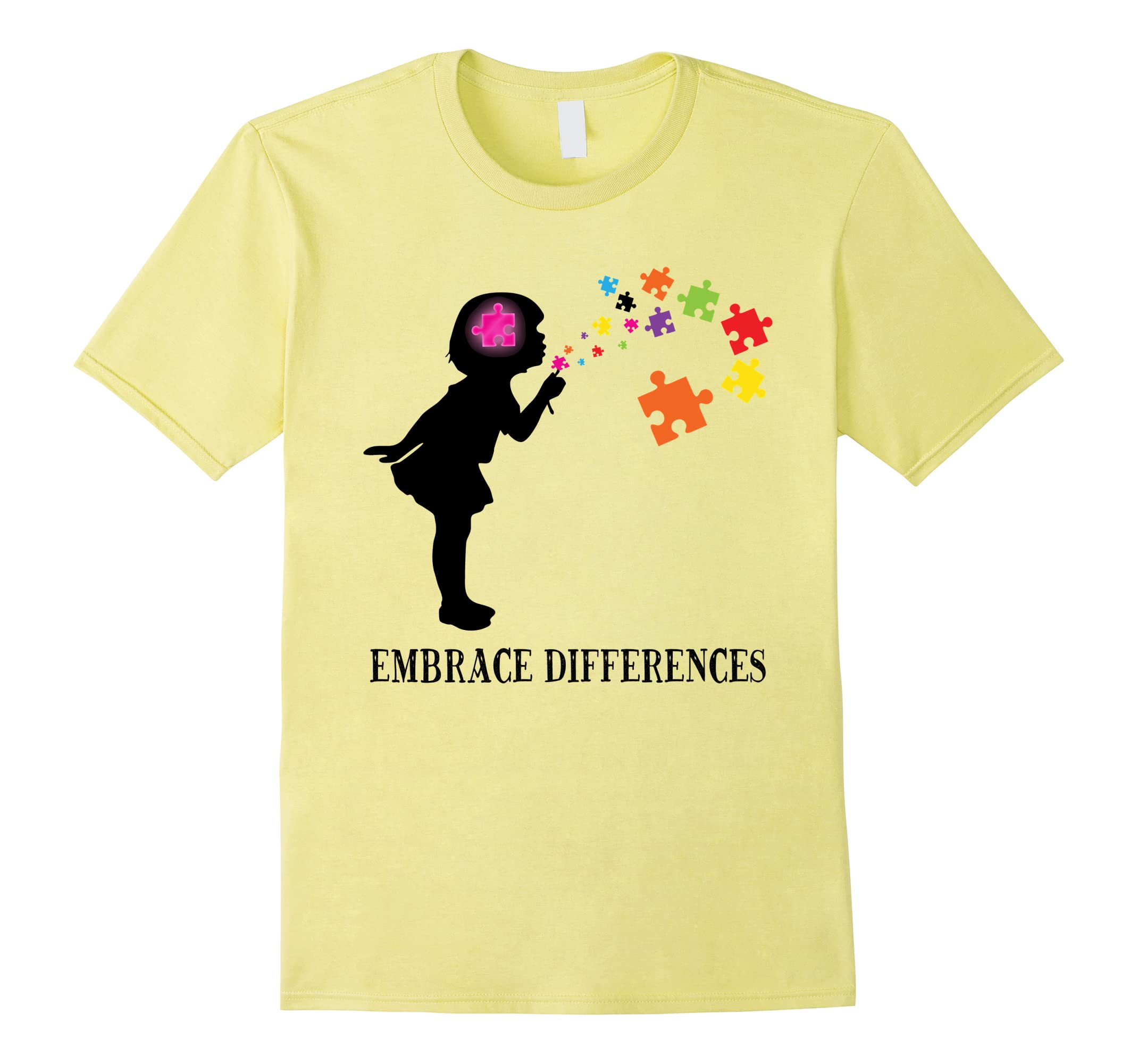'Embrace Differences' Awesome Autism Awareness Shirt-ah my shirt one gift