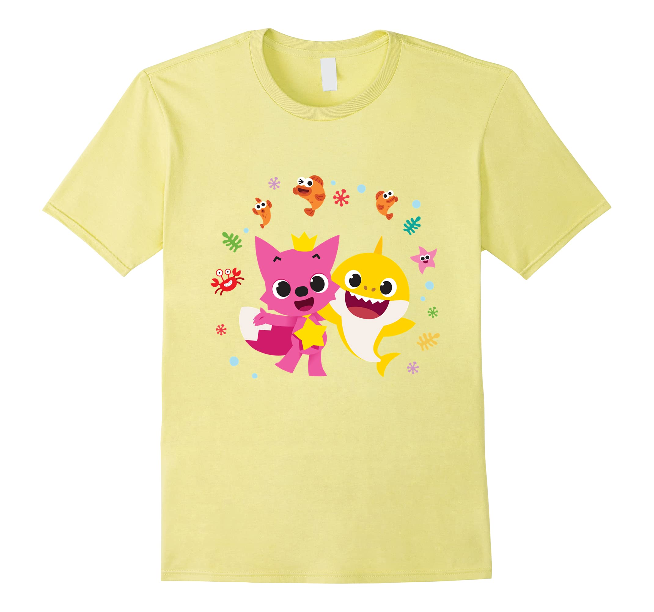b4409b96b Pinkfong and Baby Shark T-shirt-RT – Rateeshirt