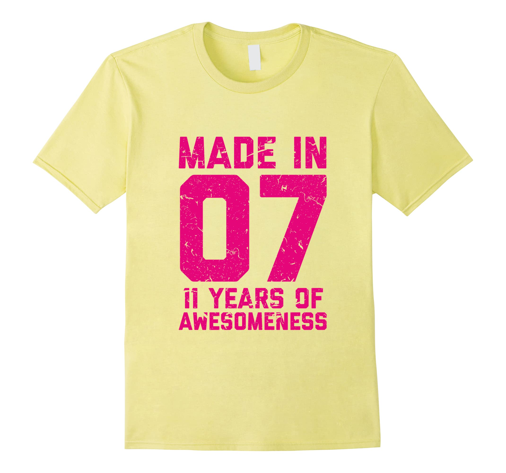 11th Birthday Shirt Gift Girls Age 11 Eleven Year Old Girl T RT