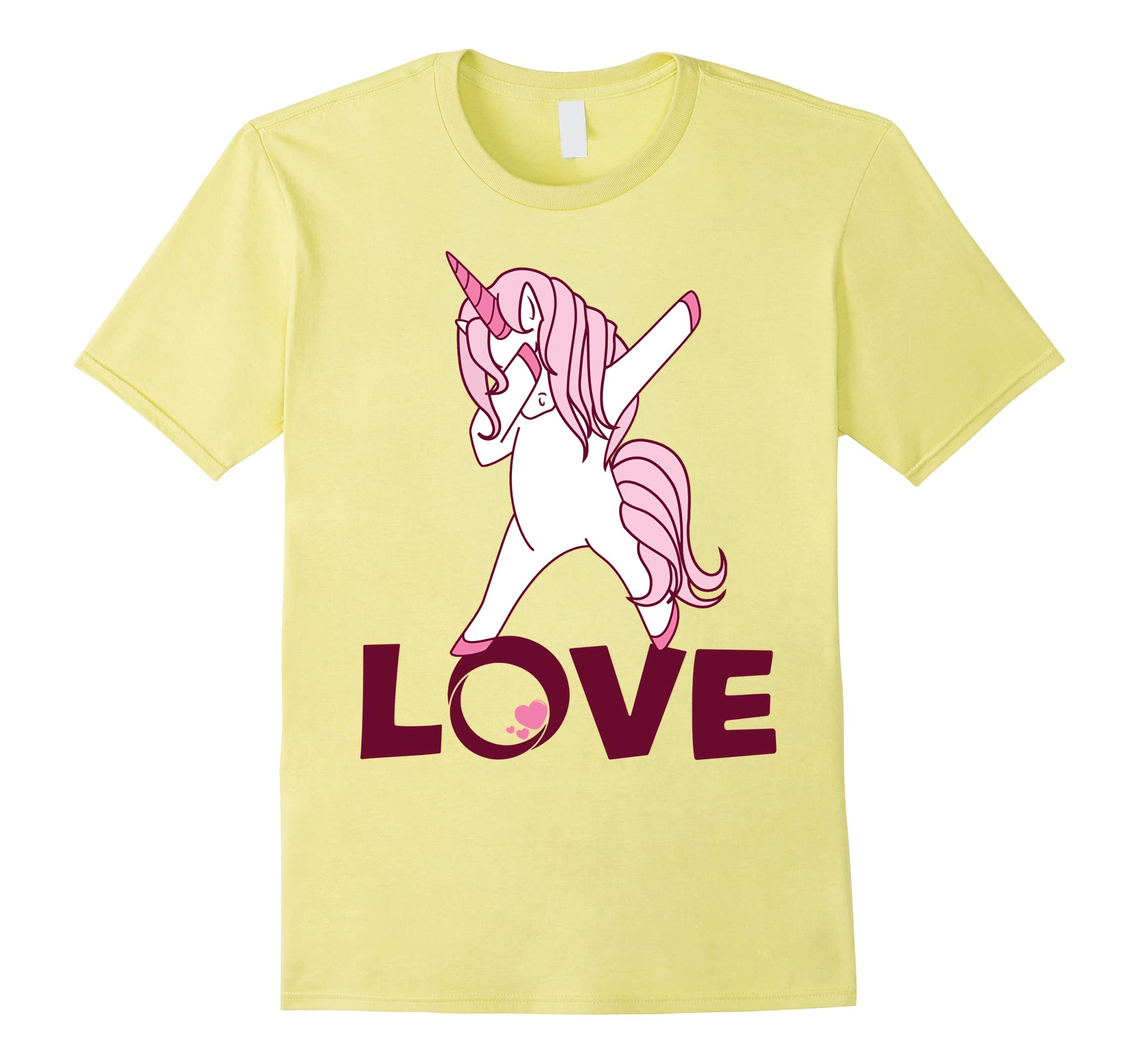Dabbing Pink Unicorn Dancing Love Valentines Day Shirt Ah My Shirt