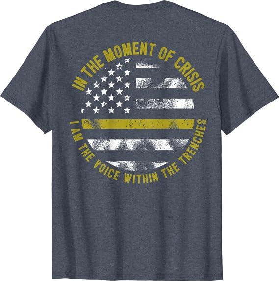 Peace Love Dispatch Racerback Tank  Dispatcher Tank Top  Dispatcher Shirt  Thin Gold Line Tank Top  Thin Gold Line Shirt 911 Dispatcher