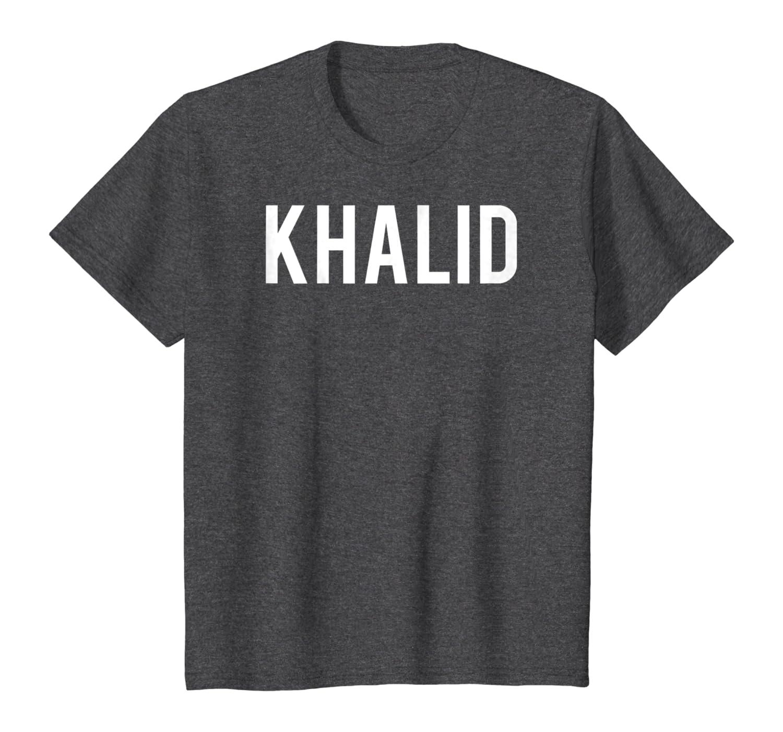 This Girl Loves Khalid Name T Shirt