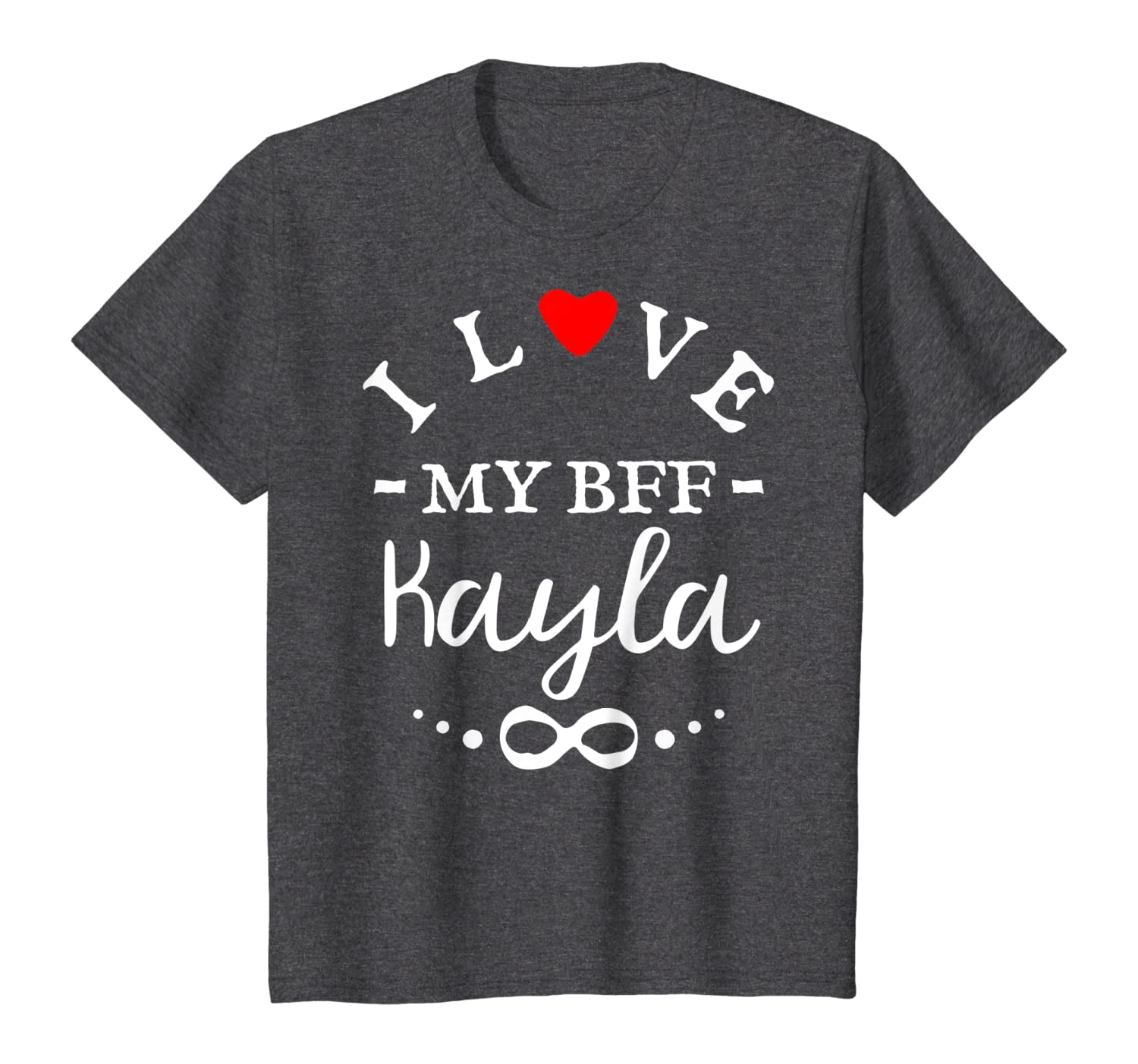 Amazon Com I Love My Bff Kayla Cute Personalized Name Best Friends T Shirt Clothing,2018 Grand Design Solitude 375res