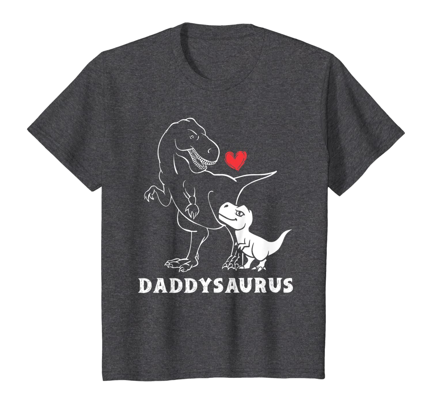 Mens Daddysaurus Dinosaur T-shirt Gifts For Dad Fathers Day T-shirt - Dad Shirts Up To 5xl