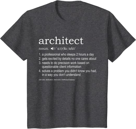 God Is An Architect Mens T-Shirt Funny