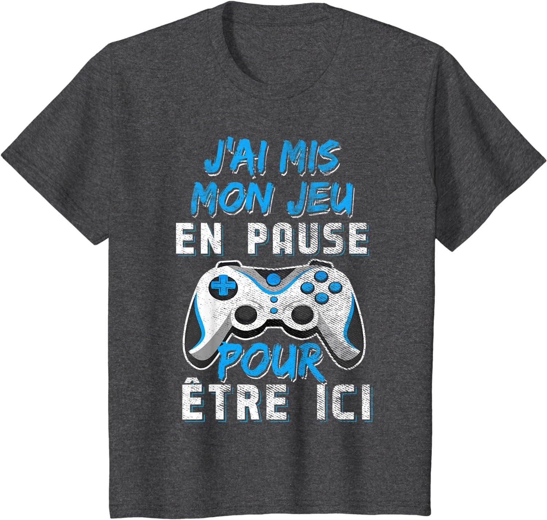 Ma journée parfaite jeux vidéo eat sleep play Jeux vidéo Tee-shirt Homme Cadeau TEE