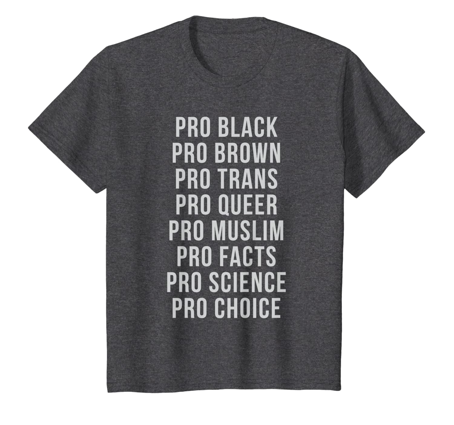 a8e6b211a33d Amazon.com: Pro Equality T-Shirt to Promote Equal Rights for All: Clothing