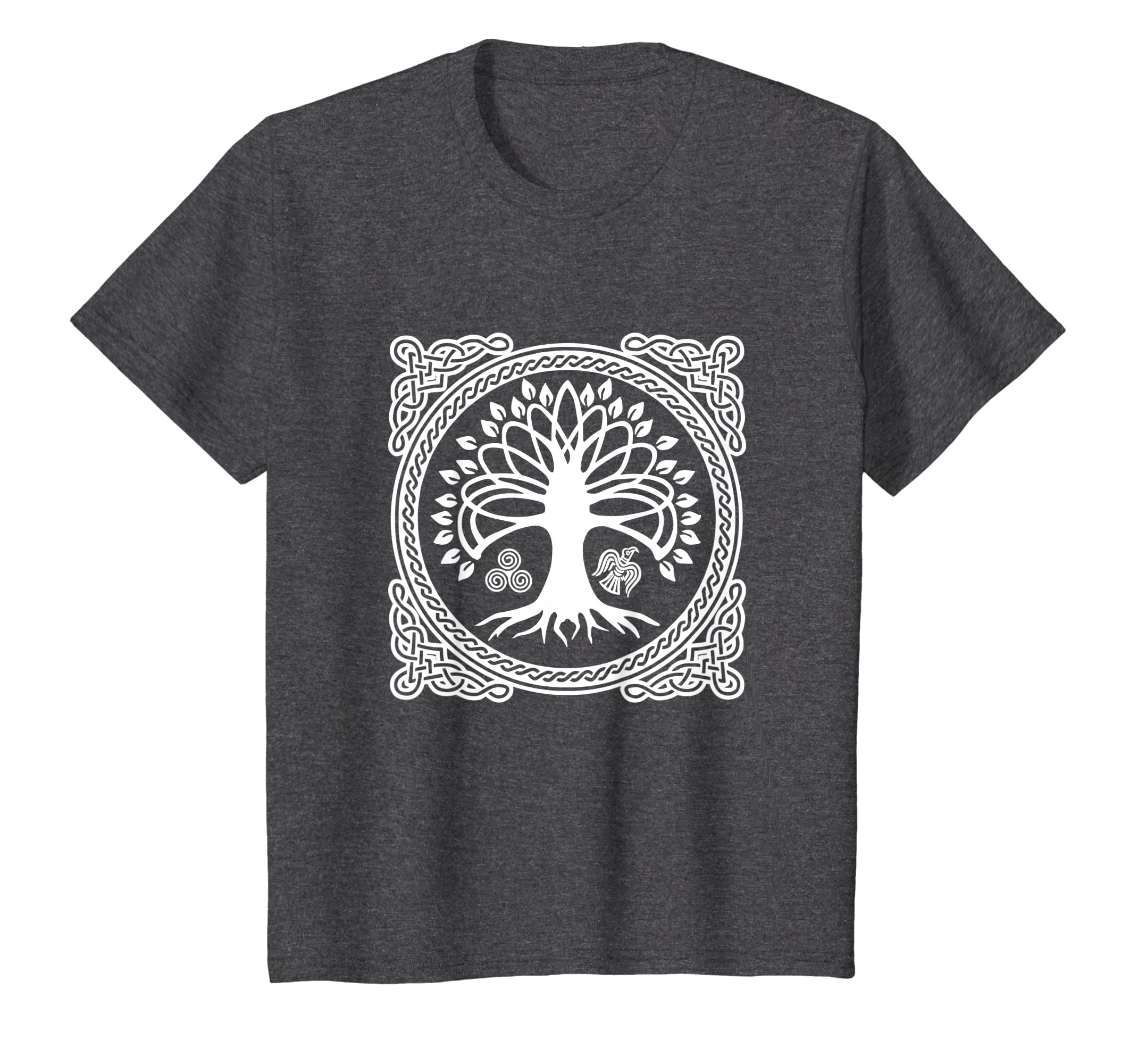 276bfe019f2 Amazon.com: Viking Tree Of Life Gift Shirt Norse Mythology Valhalla Tee:  Clothing