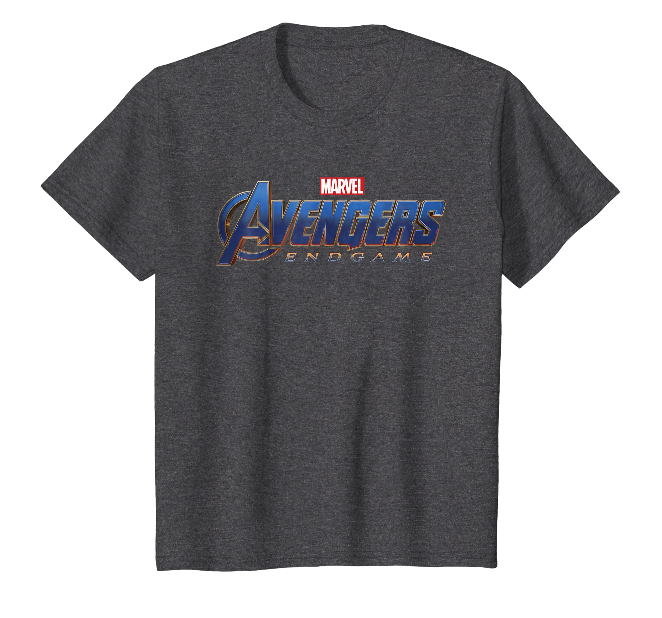 ba1947a79abe Amazon.com  Marvel Avengers Endgame Movie Logo Graphic T-Shirt  Clothing