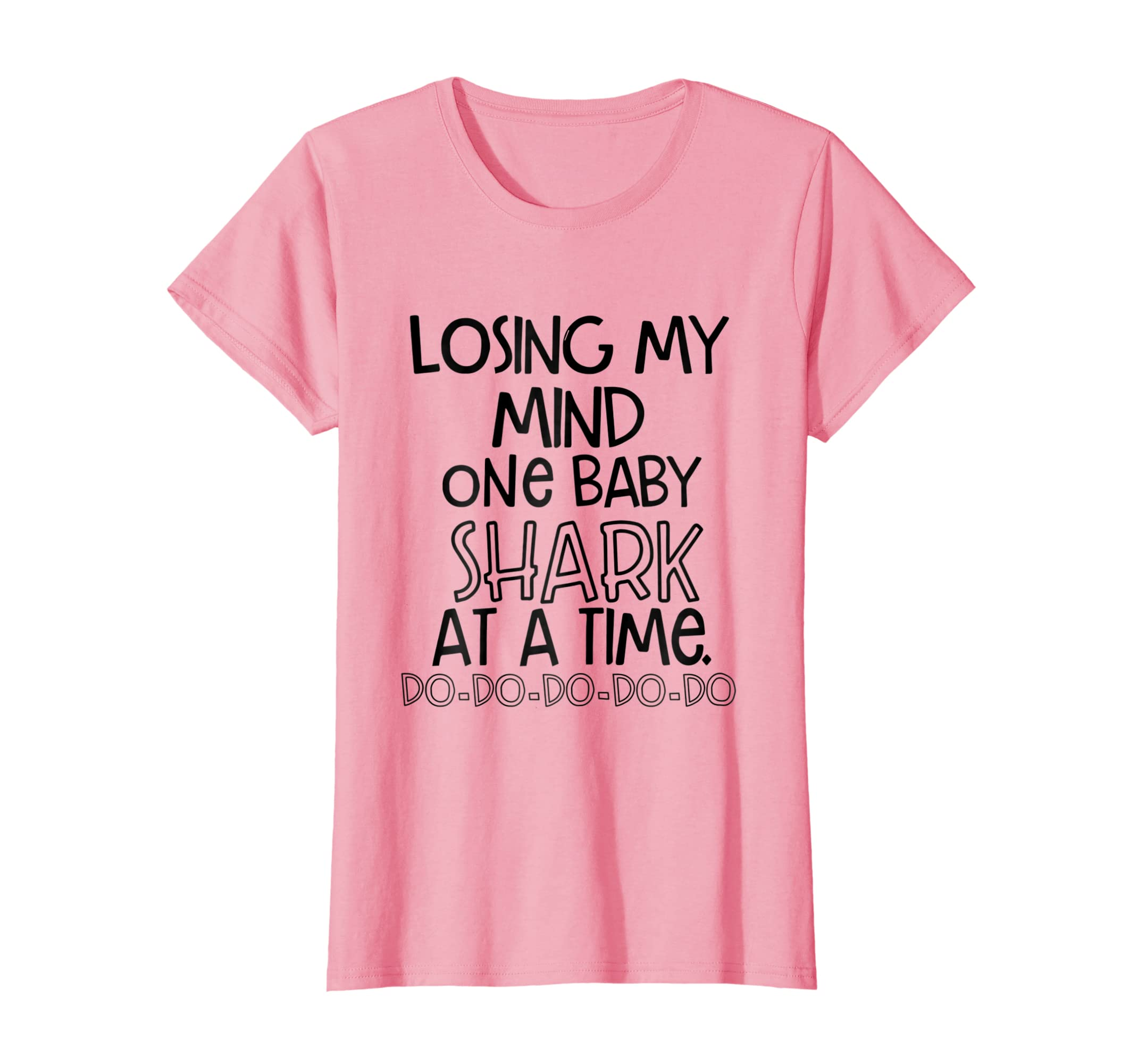 Losing my mind one baby Shark at a time do do T shirt-Awarplus