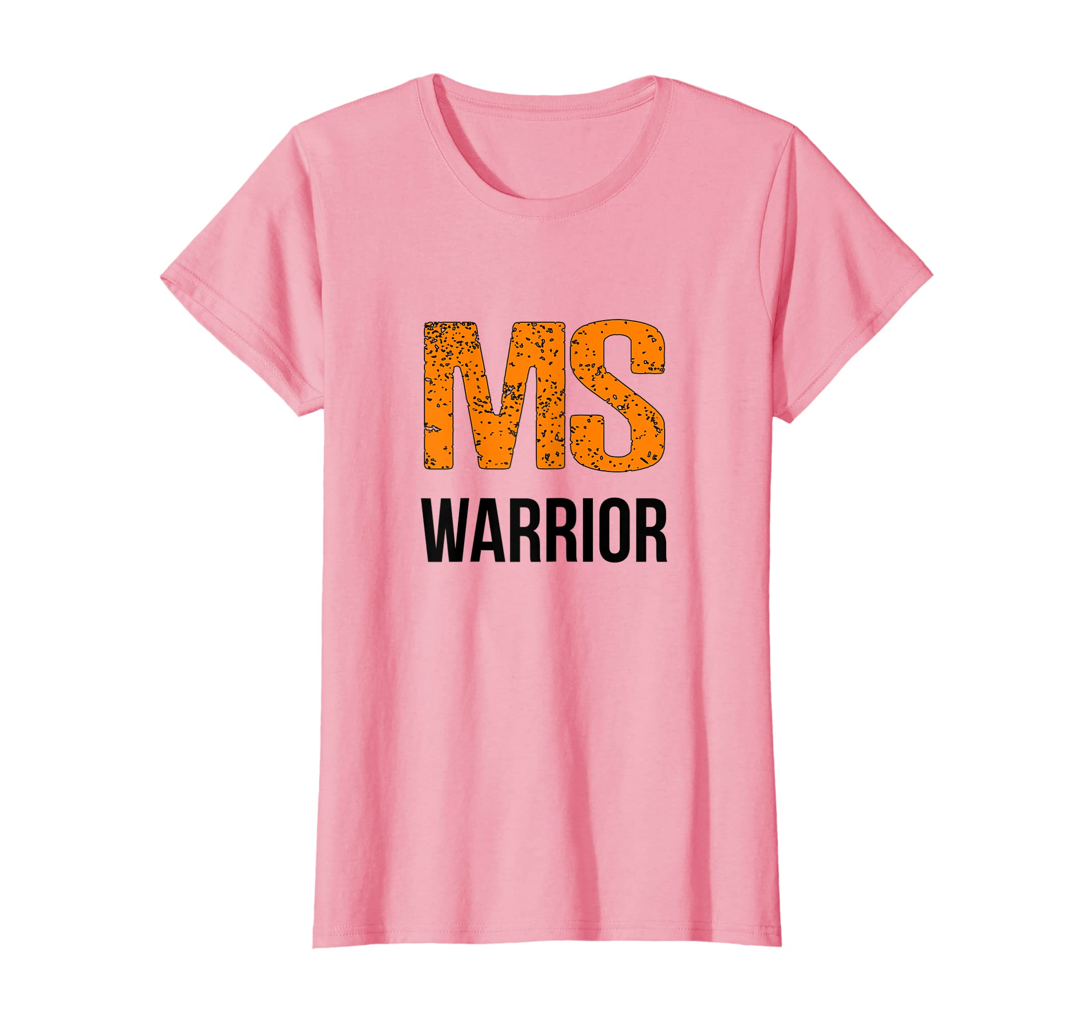 1c093d3f Amazon.com: MS Warrior Cute Multiple Sclerosis Awareness T-Shirt, MS Tee:  Clothing