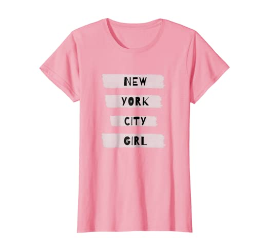 Image Unavailable. Image not available for. Color  New York City Girl T- shirt ... 4a379d36813