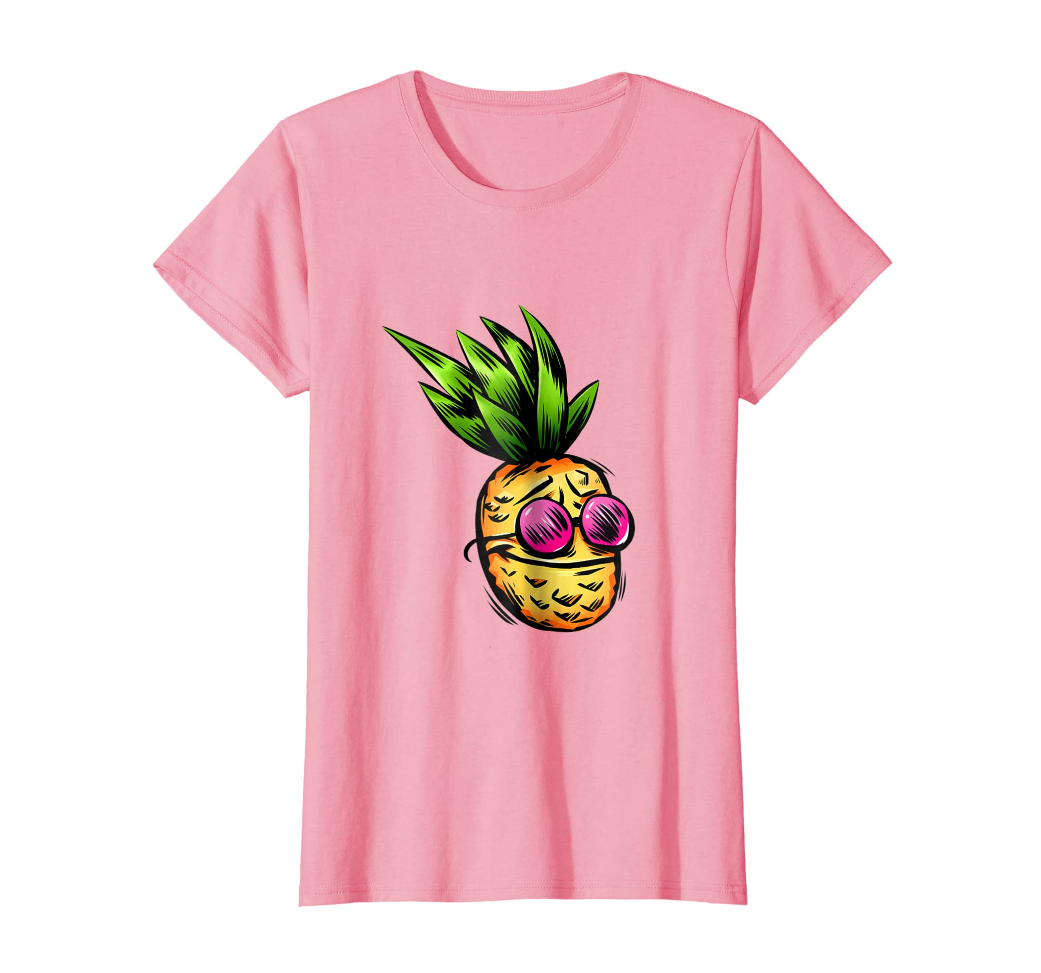 55f2e0e00 Amazon.com: Party Pineapple Hawaiian T-Shirt Men Women Boys Girls: Clothing