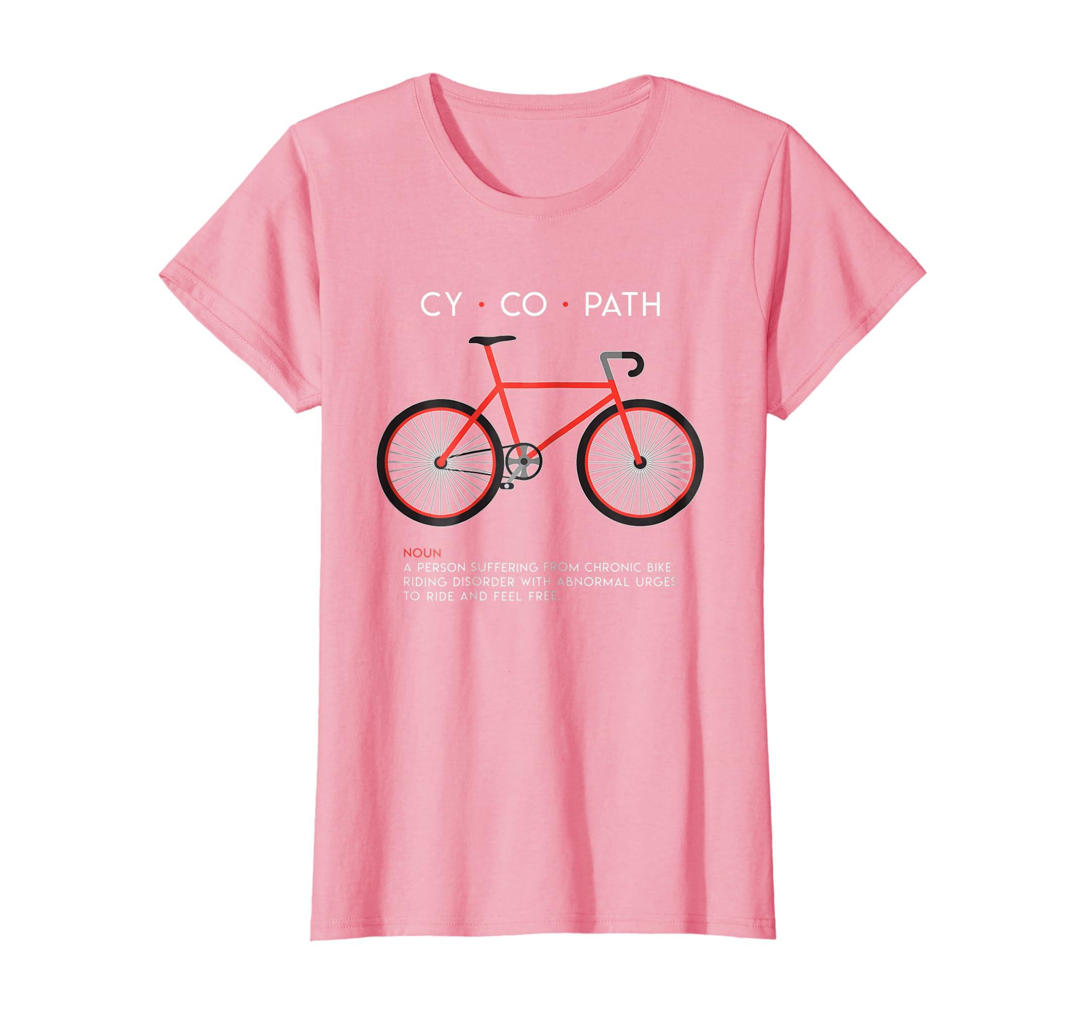 CYCOPATH – Funny Cycling and Bicycle Riders Bike T-Shirt-Yolotee
